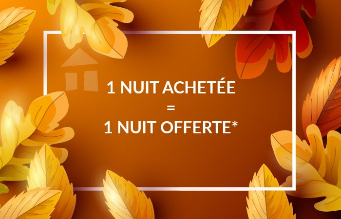 Promotion week-ends d'octobre