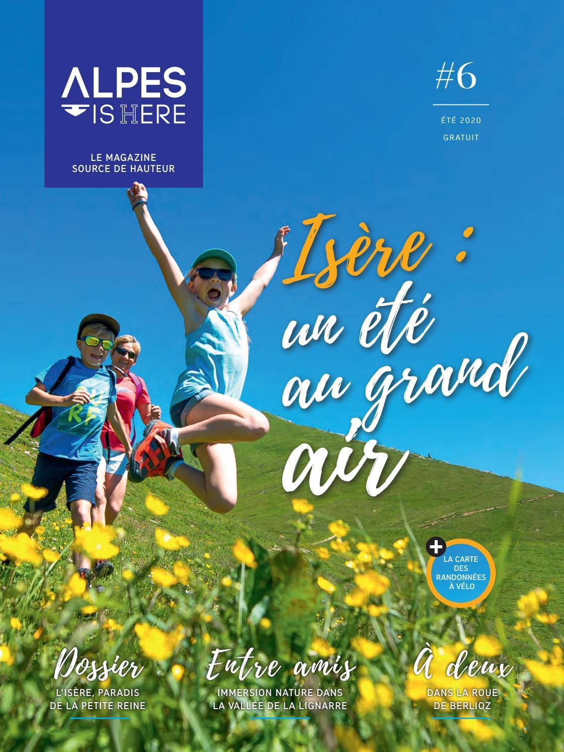 Cet été redécouvrez l'Isère !