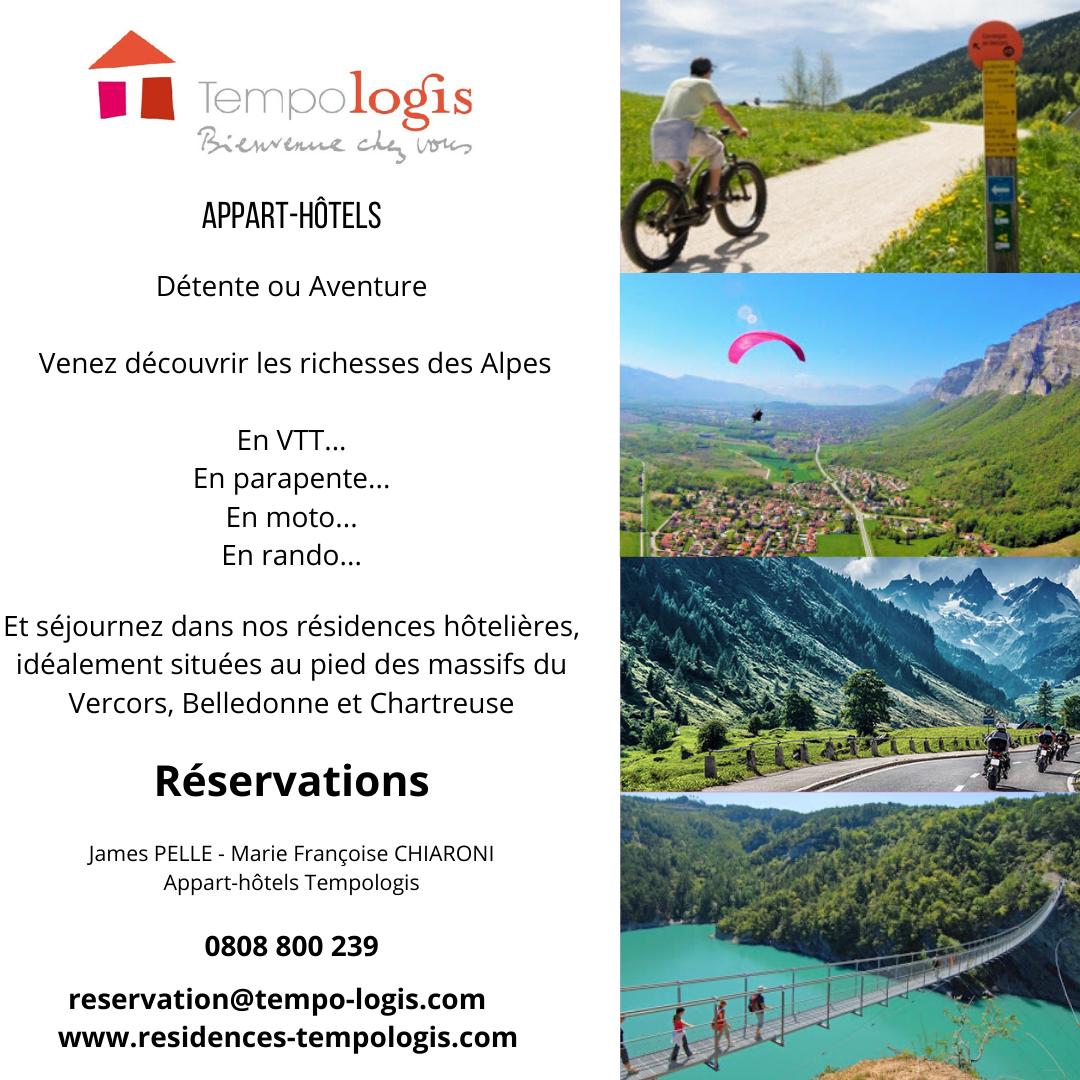 Venez découvrir les richesses des Alpes
